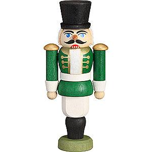 Nussknacker Soldaten Nussknacker Husar grün - 9 cm