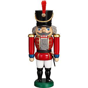 Nussknacker Soldaten Nussknacker Husar rot - 28 cm
