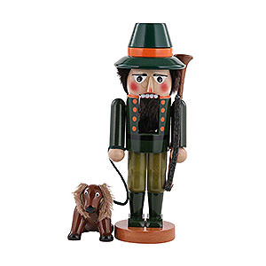 Nussknacker Berufe Nussknacker Jäger mit Hund - 35 cm