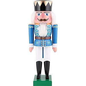 Nussknacker Könige Nussknacker König blau - 36 cm
