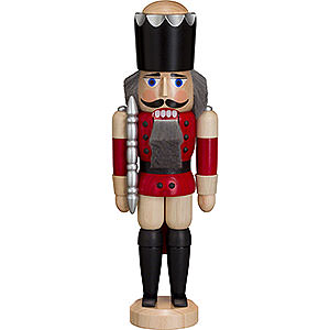 Nussknacker Könige Nussknacker König lasiert rot - 29 cm