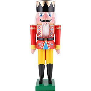 Nussknacker Könige Nussknacker König rot - 36 cm