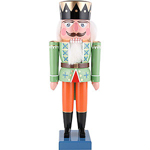 Nussknacker Könige Nussknacker König grün - 35 cm