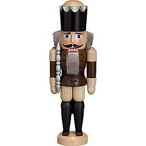 Nussknacker Könige Nussknacker König lasiert braun - 29 cm