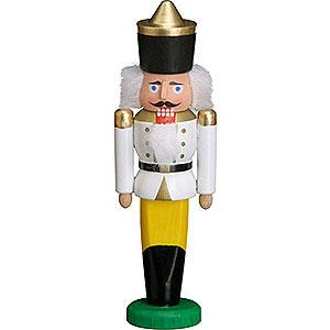 Nussknacker Könige Nussknacker König weiß - 9 cm