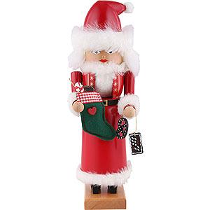 Nussknacker Weihnachtsmänner Nussknacker Mrs. Santa - 29 cm