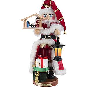 Nussknacker Weihnachtsmänner Nussknacker Musical Stille-Nacht-Santa, limitierte Edition - 49 cm
