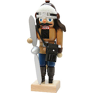 Nussknacker Berufe Nussknacker Pilot natur - 25 cm