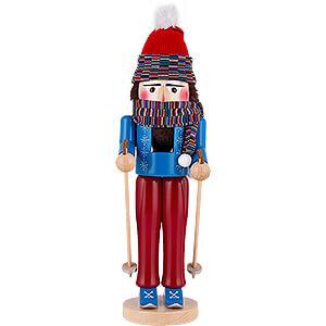 Nussknacker Hobbies Nussknacker Skifahrer stehend - 43 cm