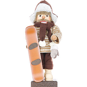 Nussknacker Hobbies Nussknacker Snowboarder, limitiert - 45,5 cm