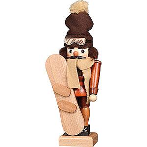 Nussknacker Hobbies Nussknacker Snowboarder natur - 30 cm