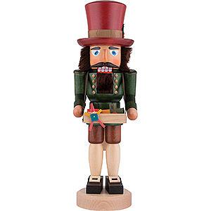 Nussknacker Berufe Nussknacker Spielzeughändler lasiert - 40,5 cm