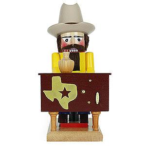 Nussknacker Sonstige Nußknacker Nussknacker Texaner mit Musik - 31 cm