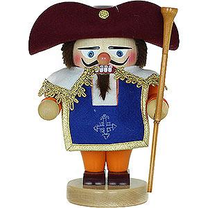 Nussknacker Bekannte Personen Nussknacker Troll Portos The Noble Musketeer mit Musket - 24 cm