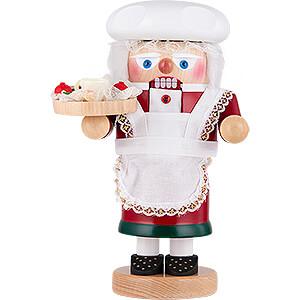 Nussknacker Weihnachtsmänner Nussknacker Troll Weihnachtsfrau - 27 cm