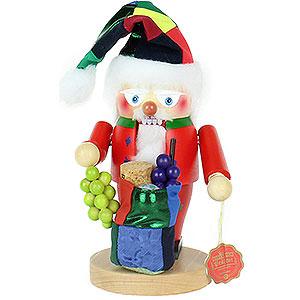 Nussknacker Weihnachtsmänner Nussknacker Troll Wein-Weihnachtsmann - 26 cm
