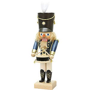 Nussknacker Berufe Nussknacker Trommler blau - 28,5 cm
