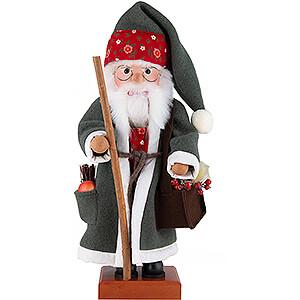 Nussknacker Weihnachtsmänner Nussknacker Weihnachtsmann Blumen - 49 cm