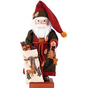 Nussknacker Weihnachtsmänner Nussknacker Weihnachtsmann Herbstfarben - 49,5 cm