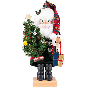 Nussknacker Weihnachtsmänner Nussknacker Weihnachtsmann Karo - 49 cm