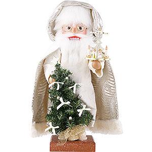 Nussknacker Weihnachtsmänner Nussknacker Weihnachtsmann mit Pyramide 45 cm