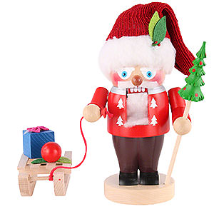Nussknacker Weihnachtsmänner Nussknacker Weihnachtsmann mit Schlitten - 25 cm