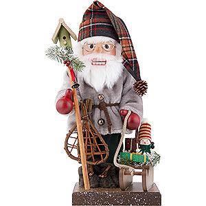 Nussknacker Weihnachtsmänner Nussknacker Weihnachtsmann mit Schlitten, limitiert - 46,0 cm