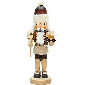 Nussknacker Weihnachtsmänner Nussknacker Weihnachtsmann mit Spielzeug natur - 42,0 cm