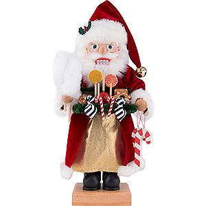 Nussknacker Weihnachtsmänner Nussknacker Weihnachtsmann mit Süßwaren - 46,5 cm