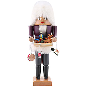Nussknacker Berufe Nussknacker Weihnachtsmarktverkäuferin - 30 cm