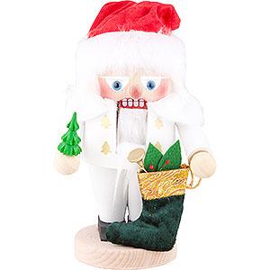 Nussknacker Weihnachtsmänner Nussknacker White Santa - 25 cm