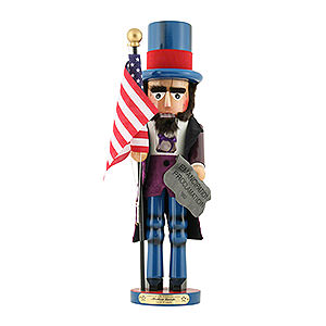 Nutcrackers Famous Persons Nutcracker - Abraham Lincoln - Limited Edition - 48 cm / 18,9 inch