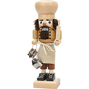 Nutcrackers Professions Nutcracker - Baker Natural - 27 cm / 10.6 inch