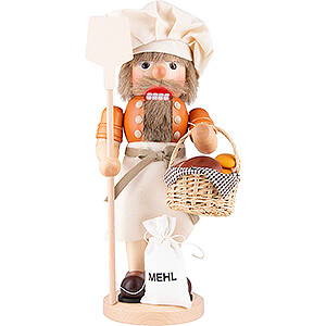 Nutcrackers Professions Nutcracker - Baker Natural - 39 cm / 15.4 inch
