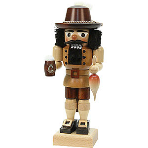 Nutcrackers Hobbies Nutcracker - Bavarian Natural Colors - 26 cm / 10 inch