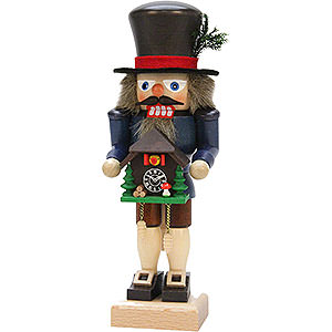 Nutcrackers Hobbies Nutcracker - Black Forester with Cuckoo Clock - 27,0 cm / 10.6 inch