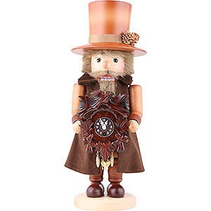 Nutcrackers Professions Nutcracker - Blackforest Clockmaker Natural Colors - 41,5 cm / 16 inch