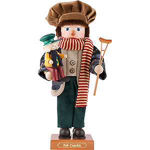 Nutcrackers Famous Persons Nutcracker - Bob Cratchit - Limited - 44,0 cm / 17.3 inch