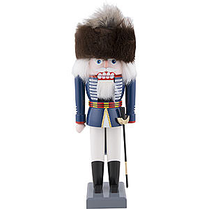 Nutcrackers Soldiers Nutcracker - British Hussar - 26 cm / 10 inch