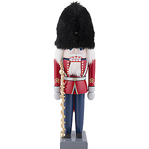 Nutcrackers Soldiers Nutcracker - British Tambourmajor - 30 cm / 12 inch