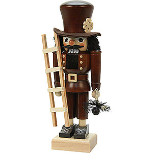 Nutcrackers Professions Nutcracker - Chimney Sweep Natural Colour - 26,5 cm / 10 inch