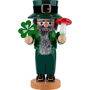 Nutcrackers Misc. Nutcrackers Nutcracker - Chubby Lucky Irish - 30 cm / 11.8 inch