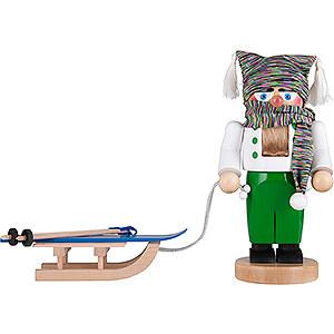 Nutcrackers Hobbies Nutcracker - Chubby Skier - 27 cm / 10.6 inch