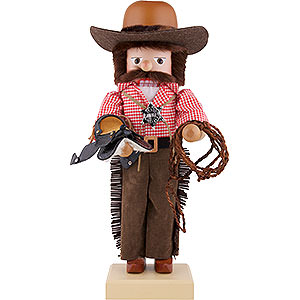 Nutcrackers Hobbies Nutcracker - Cowboy - 47 cm / 18.5 inch