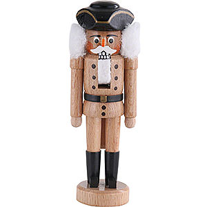 Nutcrackers Soldiers Nutcracker - Dreispitz - Natural- 15 cm / 6 inch