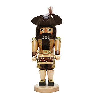 Nutcrackers Professions Nutcracker - Drummer Natural - 40 cm / 15.7 inch