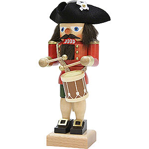 Nutcrackers Professions Nutcracker - Drummer Red - 25,0 cm / 9.8 inch