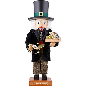 Nutcrackers Famous Persons Nutcracker - Ebenezer Scrooge - Limited - 51,5 cm / 20.3 inch
