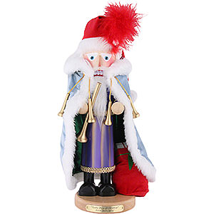 Nutcrackers Santa Claus Nutcracker - Eleven Pipers Piping - Limited Edition - 46 cm / 18.1 inch