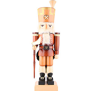 Nutcrackers Professions Nutcracker - Erzgebirge Miner Natural Colors - 79,5 cm / 31 inch